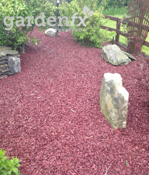 Irish Manufactured Recycled Rubber Chippings.