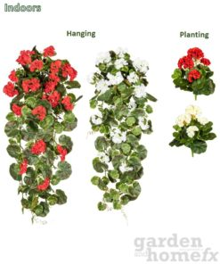 Artificial Indoor Plants - Geranium